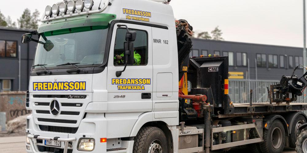 Yrkesutbildning lastbil